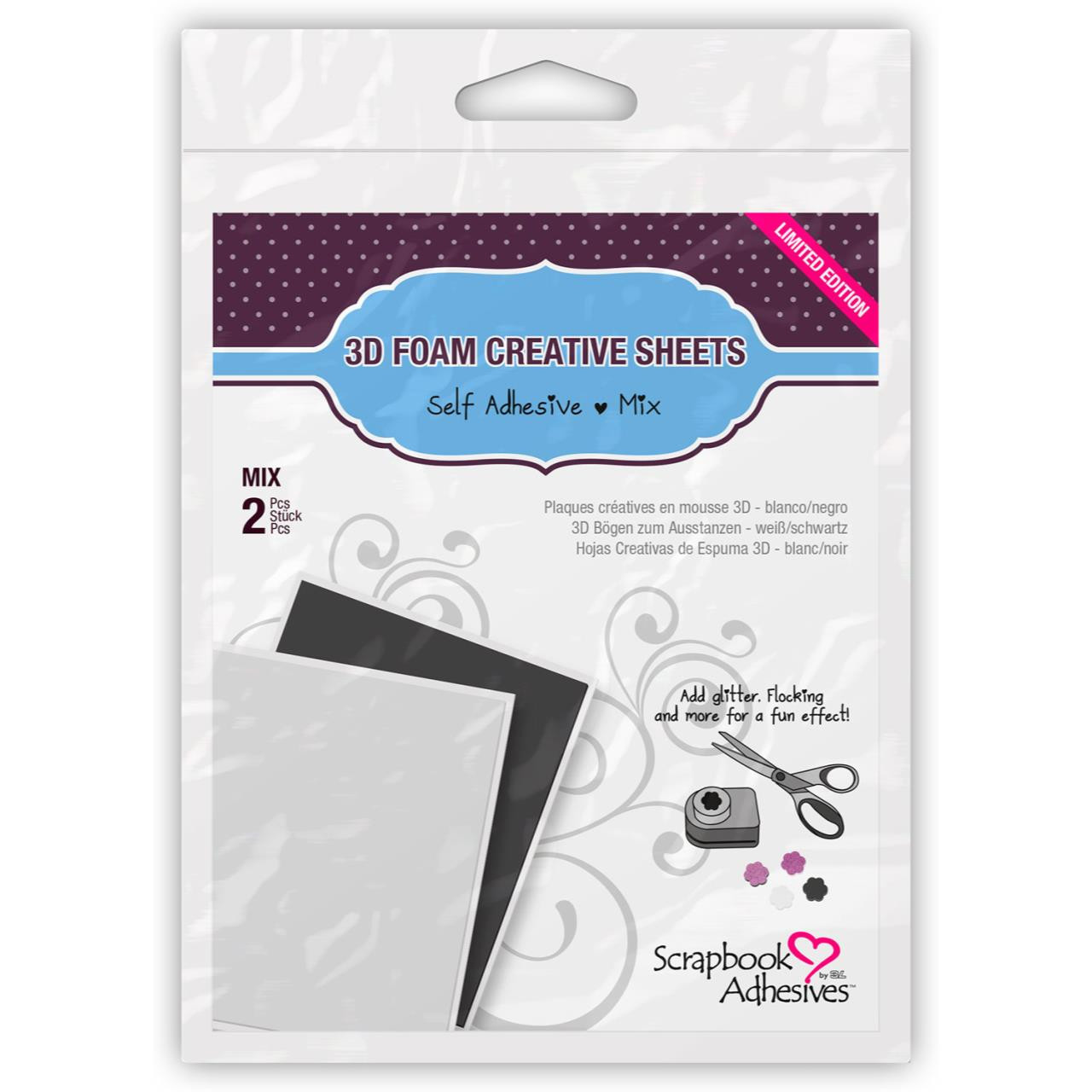 Scrapbook Adhesives 3-D Foam Creative Sheets -