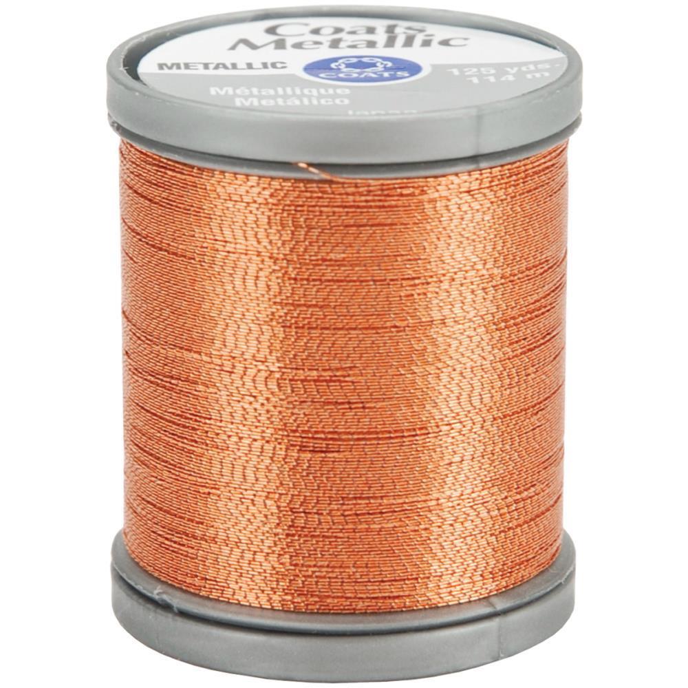 Bright Gold, Coats Metallic Thread -