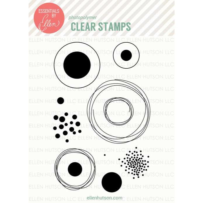 Bokeh Dots by Julie Ebersole, Essentials by Ellen Clear Stamps -