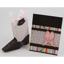 Template, Cowboy Boot, Essentials by Ellen -
