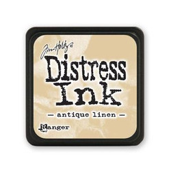 Antique Linen, Ranger Distress Mini Ink Pad -