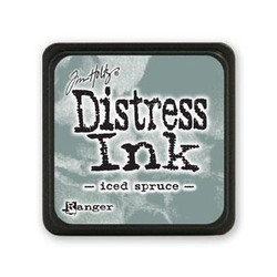 Iced Spruce, Ranger Distress Mini Ink Pad -