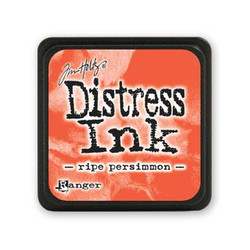 Ripe Persimmon, Ranger Distress Mini Ink Pad -