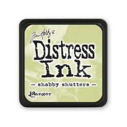 Shabby Shutters, Ranger Distress Mini Ink Pad -