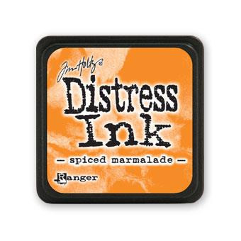 Spiced Marmalade, Ranger Distress Mini Ink Pad -