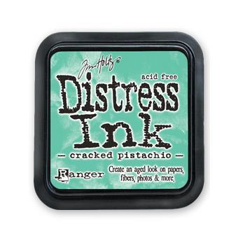 Cracked Pistachio, Ranger Distress Ink Pad -
