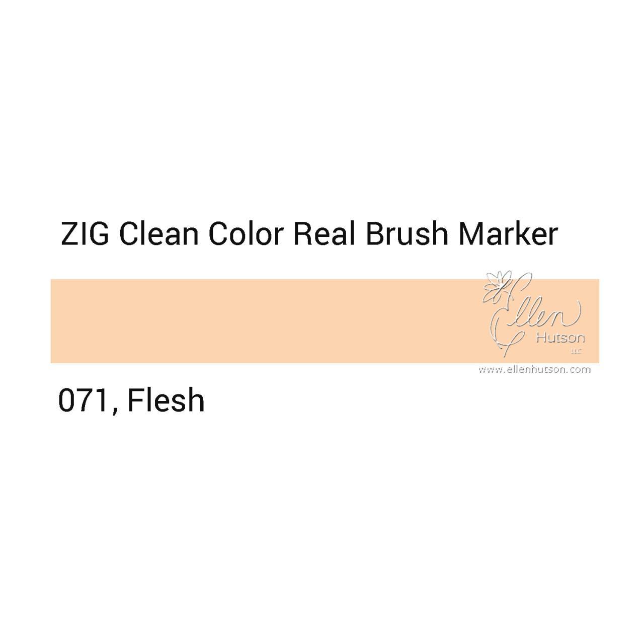 071 - Natural Beige, ZIG Clean Color Real Brush Marker -