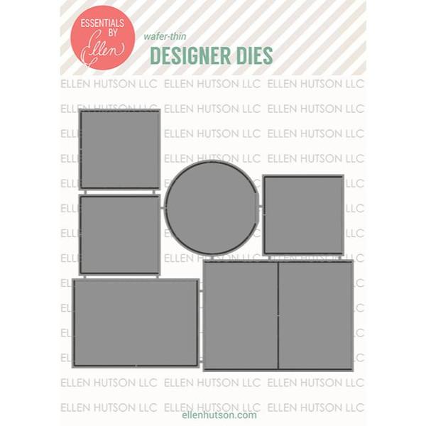 Mini Windows by Julie Ebersole, Essentials by Ellen Designer Dies -