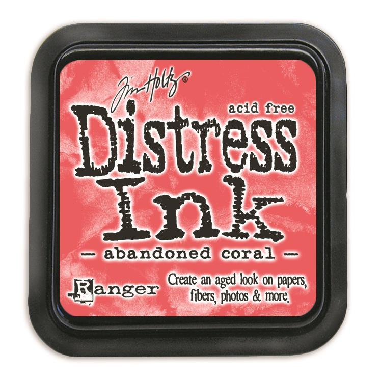 Abandoned Coral, Ranger Distress Ink Pad -