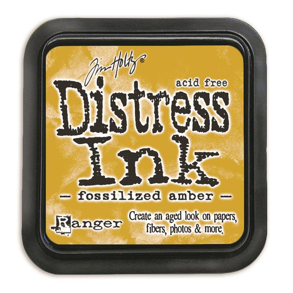 Fossilized Amber, Ranger Distress Ink Pad -