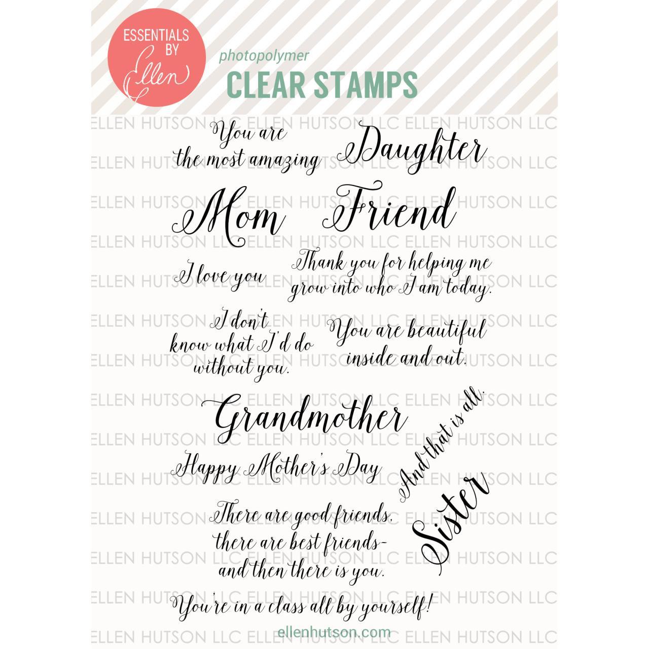 Amazing Women by Julie Ebersole, Essentials by Ellen Clear Stamps -