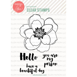 Mondo Magnolia by Julie Ebersole, Essentials by Ellen Clear Stamps -