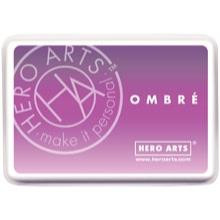 Hero Arts Ombre Ink Pad, Light Purple to Grace Juice - 294776050820