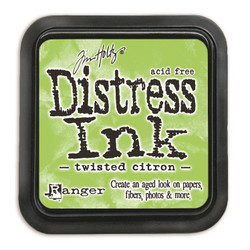 Twisted Citron, Ranger Distress Ink Pad -