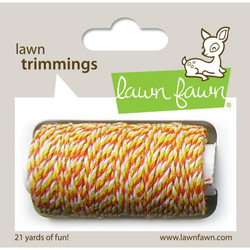 Candy Corn, Lawn Fawn Hemp Cord -