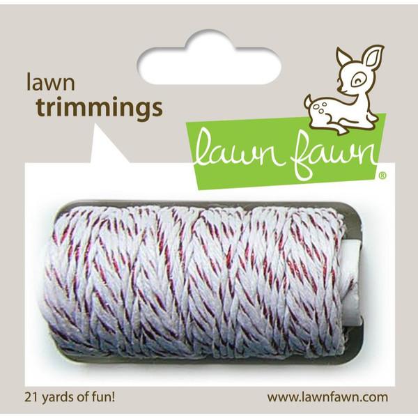 Red Sparkle, Lawn Fawn Hemp Cord -