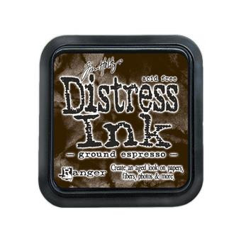 Ground Espresso, Ranger Distress Ink Pad -