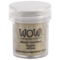 WOW Embossing Powder, Regular - Gold Rich -