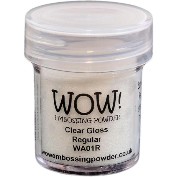 WOW Embossing Powder, Regular - Clear Gloss -
