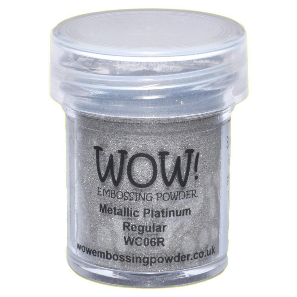 WOW Embossing Powder, Regular - Metallic Platinum -