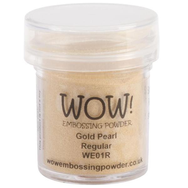 WOW Embossing Powder, Regular - Gold Pearl -