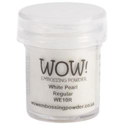 WOW Embossing Powder, Regular - White Pearl -