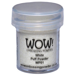 WOW Embossing Powder, White Puff -