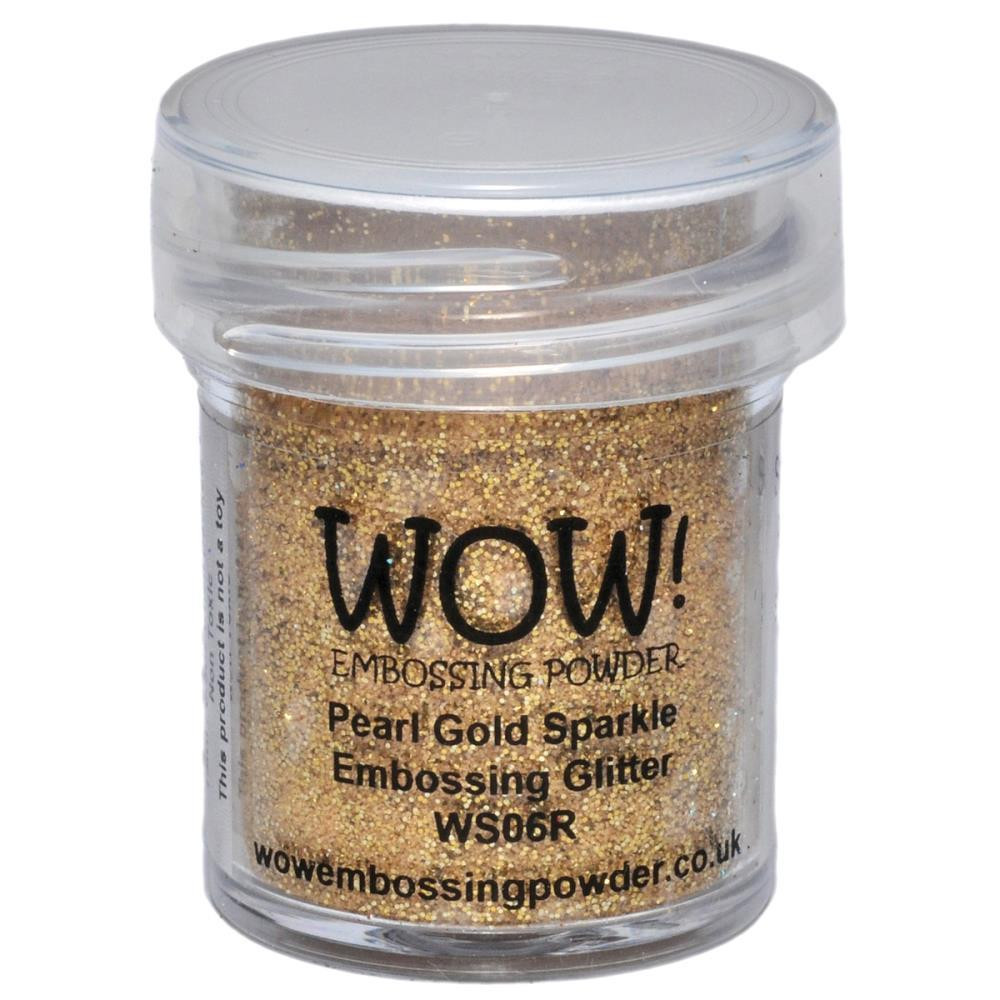 WOW Embossing Powder, Regular - Pearl Gold Sparkle -