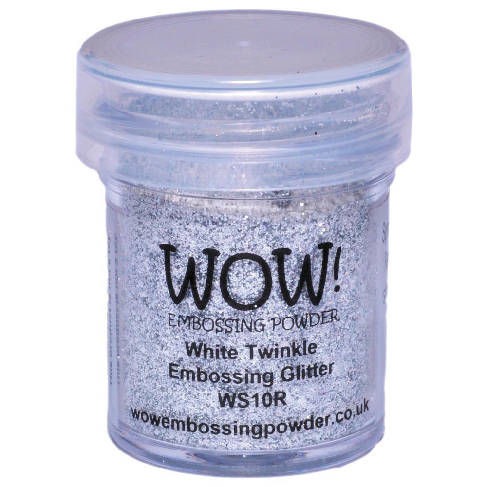 WOW Embossing Powder, Regular - White Twinkle -