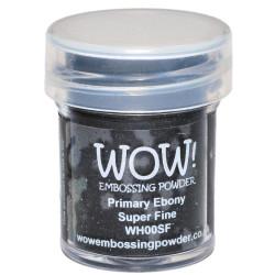 WOW Embossing Powder, Super Fine - Primary Ebony -