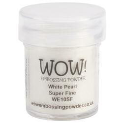 WOW Embossing Powder, Super Fine - White Pearl -