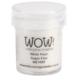WOW Embossing Powder, Super Fine - White Pearl -