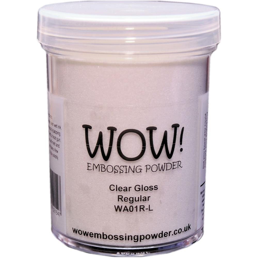 WOW Embossing Powder, Regular 160ml - Clear Gloss -