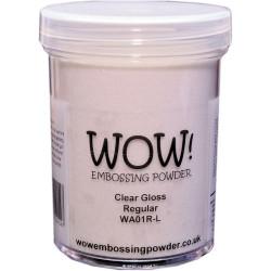 WOW Embossing Powder, Regular 160ml - Clear Gloss -