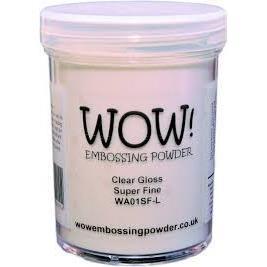 WOW Embossing Powder, Super Fine 160ml - Clear Gloss -