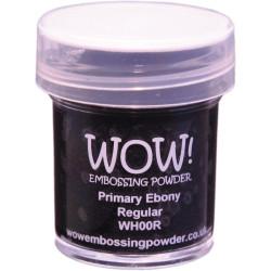 WOW Embossing Powder, Regular - Primary Ebony -