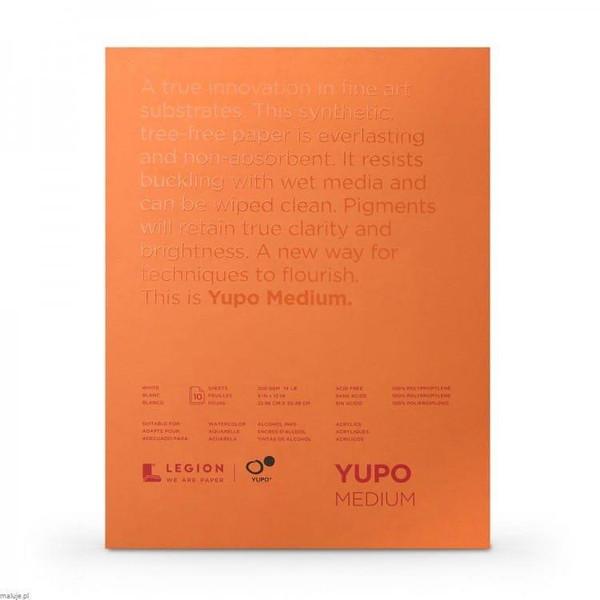 Yupo Watercolor Paper Pads, 9x12 White -