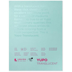 Yupo Watercolor Paper Pads, 9x12 Translucent -