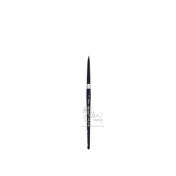 Silver Brush Black Velvet Watercolor Brushes, Short Round 8 -