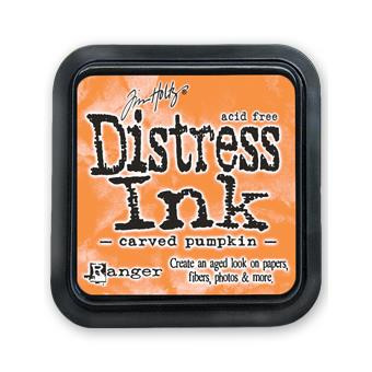 Carved Pumpkin, Ranger Distress Ink Pad -