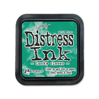 Lucky Clover, Ranger Distress Ink Pad -