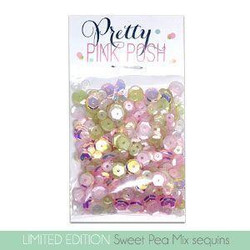 Sweet Pea Mix, Pretty Pink Posh Sequins -