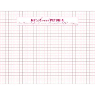 Grid Paper Pad, My Sweet Petunia -