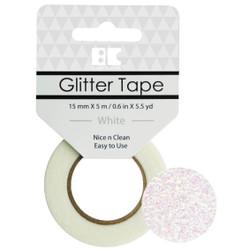 White, Best Creation Glitter Tape -