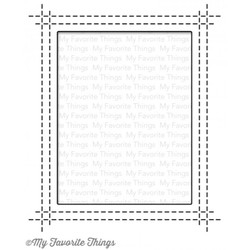 Rectangle Peek-a-boo Window by Lisa Johnson Designs, My Favorite Things Die-namics -