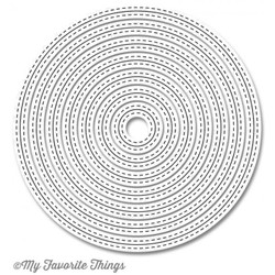 Inside & Out Stitched Circle STAX, My Favorite Things Die-namics -
