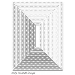 Inside & Out Stitched Rectangle STAX, My Favorite Things Die-namics -