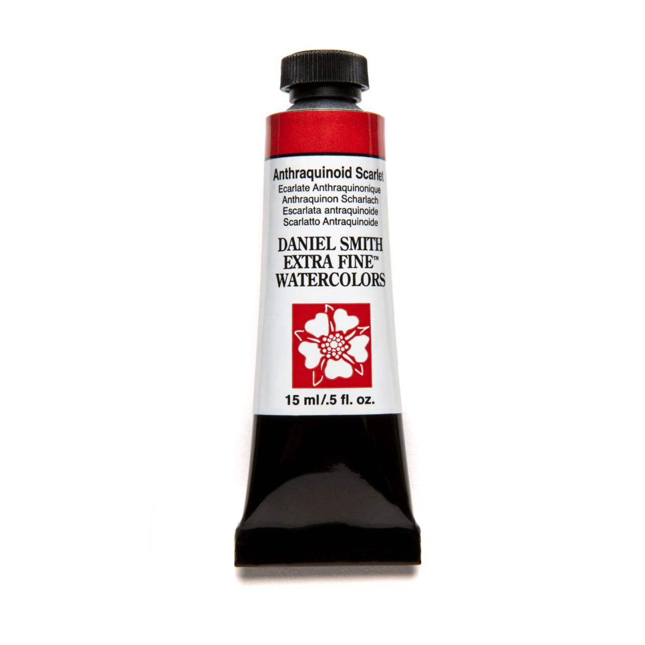 Anthraquinoid Scarlet, DANIEL SMITH Extra Fine Watercolors 15ml Tubes -
