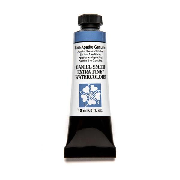 Blue Apatite Genuine (PrimaTek), DANIEL SMITH Extra Fine Watercolors 15ml Tubes -