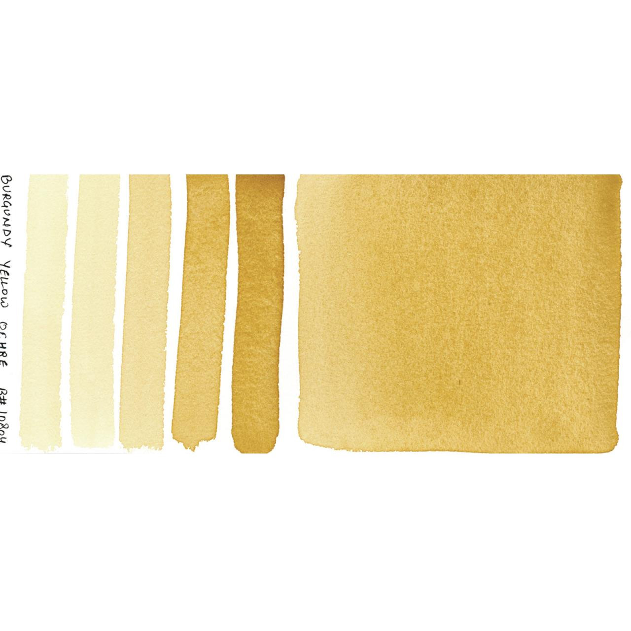 Burgundy Yellow Ochre, DANIEL SMITH Extra Fine Watercolors 15ml Tubes -